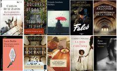 Libros más vendidos semana del 16 al 22 de enero 2017 en #ficción