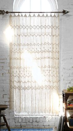 boho-inspired curtains  http://rstyle.me/n/ngtt2pdpe