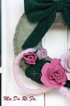 Ghirlanda con rose