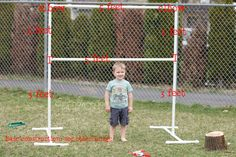 Make your own backdrop stand. I totally need to do this!!