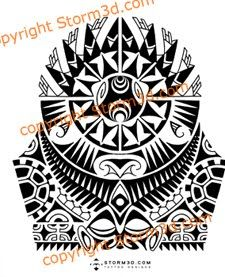 Polynesian Tattoo Drawings | Hope to update you soon with a few new projects, so if you want to ...