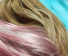 How To Dye Your Synthetic Hair Incredible Colors | Synthetic hair ...