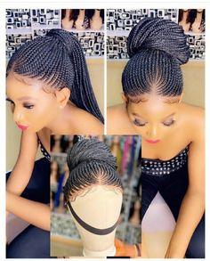 Bob Braids, Ghana Braids, Braids Wig, Feed In Braids Ponytail, Micro Braids, Braided Ponytail, Full Ponytail, Fishtail Updo, Cornrow Ponytail