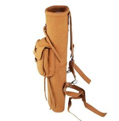 #Arrow quiver archery back #suede leather carbon fiberglass #aluminum arrows bag ,  View more on the LINK: http://www.zeppy.io/product/gb/2/131654339982/