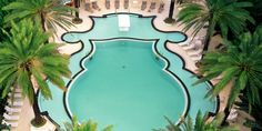 Raleigh Hotel, Miama, Florida    I would travel cross country just to swim in this pool!