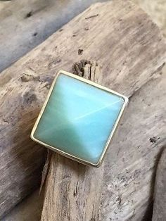 Robert Lee Morris Amazonite and Sterling Silver ring - http://elegant.designerjewelrygalleria.com/robert-lee-morris/robert-lee-morris-amazonite-and-sterling-silver-ring/