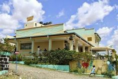Non-Colonial Architecture on road of #Asmara to #Mandefera. Hot spot for wedding outings and photos