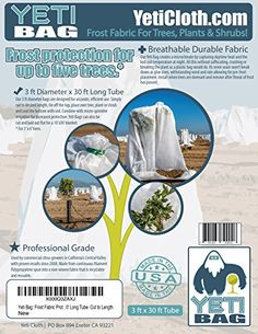 Find best price for Frost Blanket Protection for Trees, Plants and Shrubs. Diameter X Long Tube. Protection For Up To Five Trees*. Cut to Length or to Lay Flat. Plant Covers, Set Cover, Trees To Plant, Shrubs, Frost, Tube, Gardening, Free Shipping, Blanket
