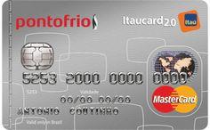 Cartão de Crédito Pontofrio Mastercard Itaucard 2.0