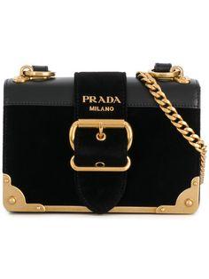Prada Cahier Buckle Shoulder Bag - Farfetch ab93434689634