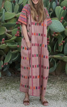 Pippa Holt Kaftans Spring Summer 2016 Look 10 on Moda Operandi
