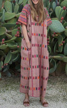 Pippa Holt Kaftans Spring Summer 2016 Look 10 on Moda Operandi / maxi dress