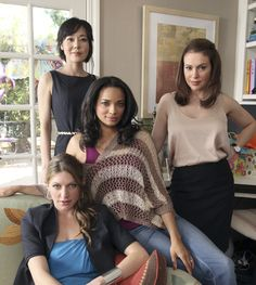 Sure...it's all innocent and flirty until it's not! Mistresses on ABC