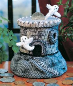 What fun items to knit.  All these knitted toy patterns are quick to make and are great as gifts or bazaar sale items.  You'll have a basket full of knitted items in no time.