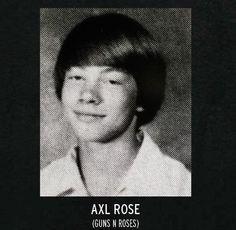 Auch gestandene Rocker waren irgendwann mal in der Schule. So sahen Kurt Cobain, Marilyn Manson oder Slash als Schüler aus. --  http://www.tonspion.de/news/high-school-fotos-rockstars-als-schueler