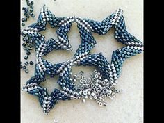 how to make geometric stars ~ Seed Bead Tutorials