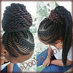 Oh I do love the neatness that can be achieved with braid wraps.