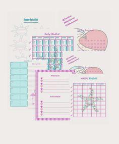 The ultimate Tone it Up Bikini Series Printable. Menu planner, workout tracker, goal sheet, etc.