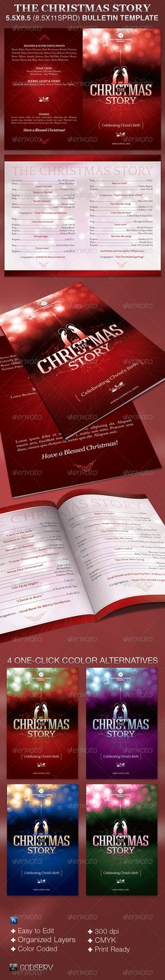 Lights Festival Christmas Flyer Template  Festival Modello Di