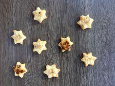Stelle di biscotto ai formaggi – Cannella e Confetti