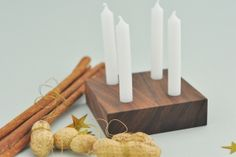 simple advent candle set easy to make