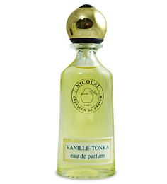 Vanille Tonka by Parfums de Nicolai is an Oriental Vanilla fragrance.  Top notes include basil, Amalfi lemon and mandarin orange.  Middle notes include carnation, African orange flower, black pepper and cinnamon.  The base has incense, vanilla and tonka. - Fragrantica  <3<3<3<3<3
