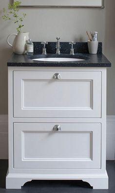 Burlington Freestanding 65 Vanity Unit with Minerva Worktop & Basin - Minerva Worktop, Bathroom Vanity Units, Work Tops, Basin, The Unit