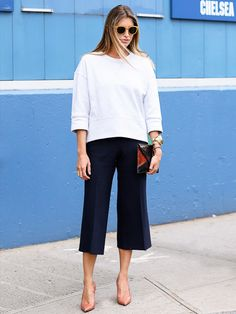 Tip of the Day: The Easiest Way to Style Culottes