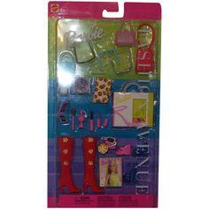 Barbie Fashion Avenue Accessory Collection NRFB Leopard Print Clutch Bag, Cd Cases, Red Shoulder Bags, Purple Lipstick, Blue Purse, It Cosmetics Brushes, Vintage Barbie Dolls, Shoes Heels Wedges, Platform Shoes