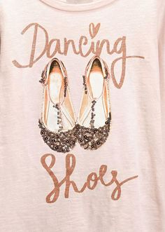 dancing shoes graphic