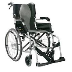 Buy Karma Ergolite 2 Wheelchair at Cheapest Price, Rs. 28,500 only By Senior Shelf  Suitable for limited living spaces/senior citizen/small attendants. The Ergo Lite is an ultra lightweight wheelchair that merely weighs 8.5 kg. Equipped with Karma's unique S-Ergo seating system, the compact design helps small attendants. This model is ideal for those who need a simple, lightweight wheelchair for short trips.