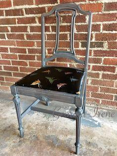 Antique Accent Chair, $85
