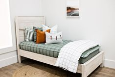 Styled for Boys – Beddy's Neutral Bedding, Green Bedding, Euro Pillow Covers, Pillow Cases, Boy Room, Kids Room, Sage Color, Feather Pillows, Basement Remodeling