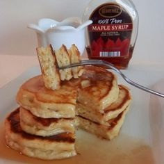 La Cucina Prima Donna: Valentine's Day Eve: Breakfast in Bed, Ricotta Pancakes Breakfast Items, Breakfast In Bed, Breakfast Recipes, Morning Breakfast, Ricotta Pancakes, Crepes, Oatmeal Pancakes, Fluffy Pancakes, Peanut Butter Oatmeal