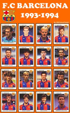 FC BARCELONA 1993-1994 Nada de parecido le veo a Guardiola #FCB