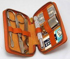 Vintage Gillette travel kit