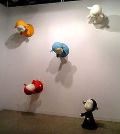 his sculpture