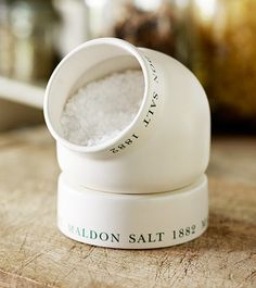 Image result for maldon sea salt salt pig