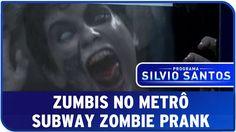 Zumbis No Metrô - Câmera Escondida SBT [Subway Zombie Prank]