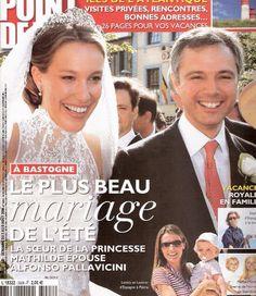 Margrave Alfonso Pallavicini & Countess Elisabeth d'Udekem d'Acoz   {2006}