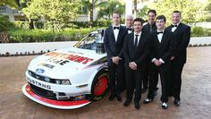 """Team Penske""  Roger, Brad, Joey, Ryan, Michael McDowell, Alex Tagliani   Best photos from the NNS and NCWTS Banquet | NASCAR.com"