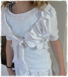 Bolerojäckchen aus T-Shirt