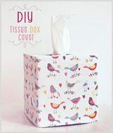 DIY Tissue Box Cover
