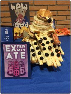 Dalek sandwich tower. Doctor Who.