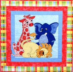 Jungle babies pattern by Desiree's Designs