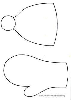 Rukavice a čepice