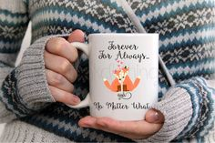 Fox Coffee Mug - Valentine Coffee Mug - Inspirational Fox Mug - Love Quote Coffee Mug - Love Quote Decor - Coffee Lover Gift - Gifts for Her by GypsyJunkClothing on Etsy