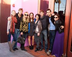 Thats a wrap! 90210 cast parties at Pink Taco