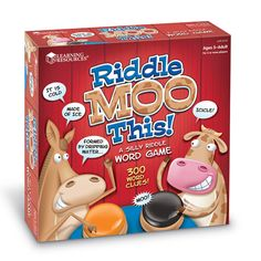 Riddle Moo This™ - A Silly Riddle Word Game
