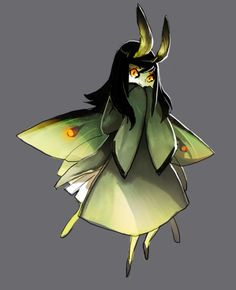 moth girls, lines for the first one by Evonyo Female Character Design, Character Drawing, Character Design Inspiration, Character Concept, Concept Art, Magical Creatures, Fantasy Creatures, Cute Animal Drawings Kawaii, Creature Drawings